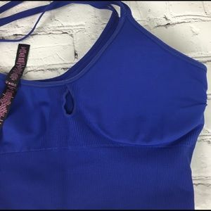 Betsey Johnson Intimates & Sleepwear - Betsy Johnson Sports Bra Royal Blue Sz L